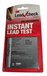 Test lead at home with 3M LeadCheck Swabs